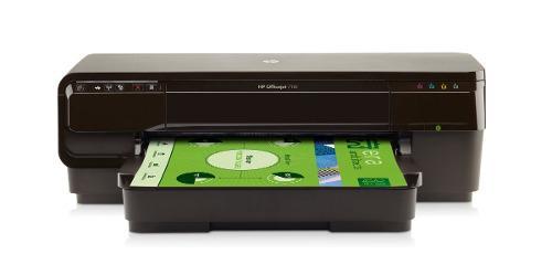 Impresora hp officejet 7110 de formato ancho