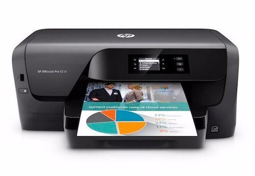 Impresora hp officejet pro 8210 color wifi no. d9l63a