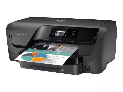 Impresora hp officejet pro 8210 negra a color