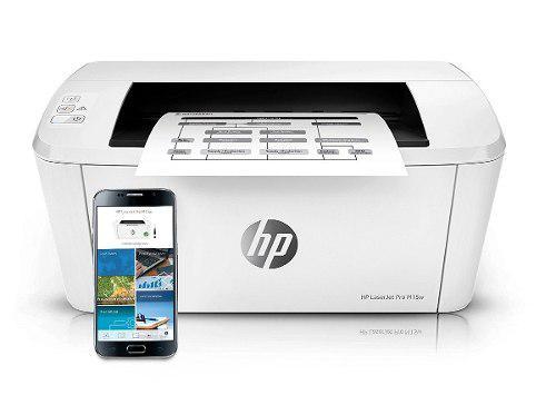 Impresora hp wifi laserjet pro m15w blanco y negro