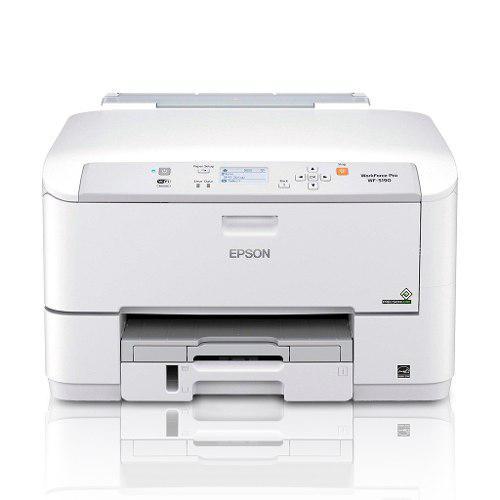 Impresora inalámbrica color epson wf-5190 carta oficio
