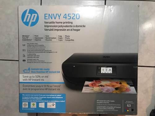 Impresora inalámbrica hp envy 4520