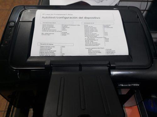 Impresora Laserjet Hp 1102w