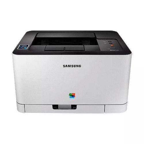 Impresora láser a color samsung c430w, wi-fi usb y móviles
