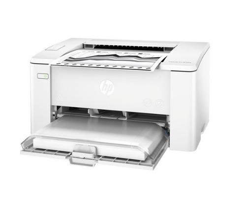 Impresora láser hp laserjet pro m102w inalámbrica blanco