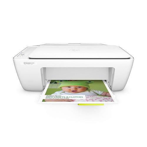 Impresora multifuncional de tinta hp deskjet 2130 - blanca