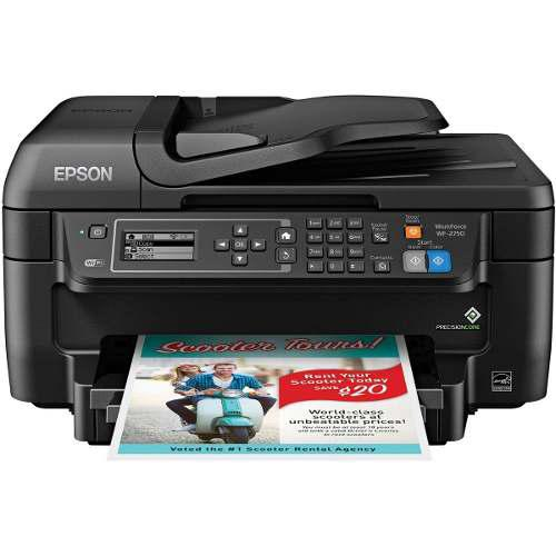 Impresora multifuncional epson workforce wf-2750 wifi