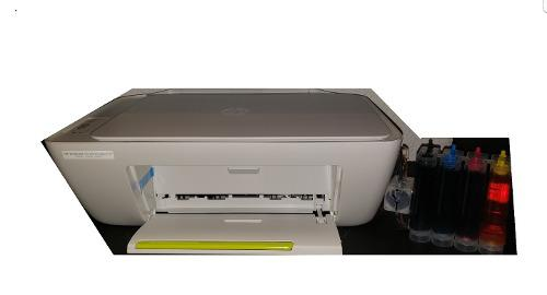 Impresora multifuncional hp 2134 + sistema de tinta continua