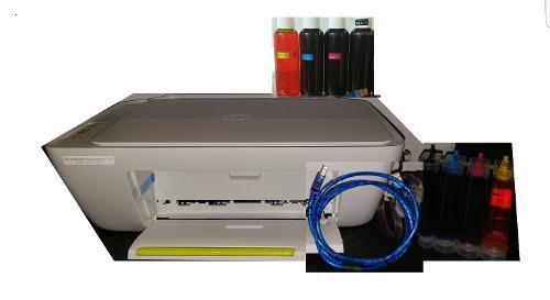 Impresora multifuncional hp 2134 tinta continua + cable usb