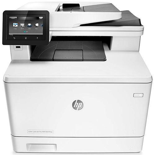 Impresora multifuncional laser hp laserjet pro m477fnw color