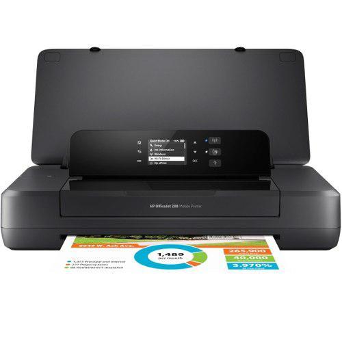 Impresora portatil hp officejet 200 color inyeccion cz993a