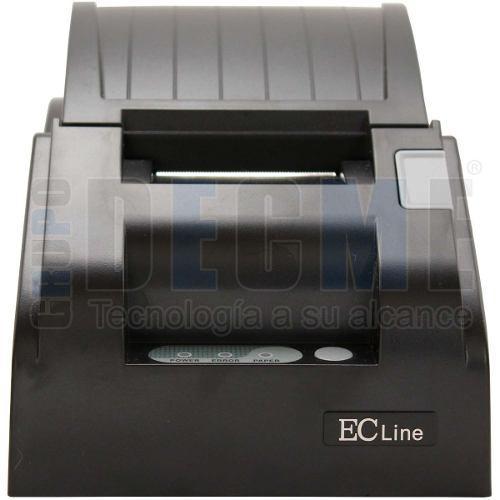 Impresora termica mini printer ec line 58mm tickets red 5890