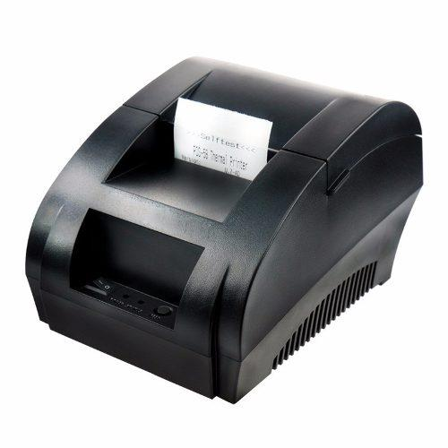 Impresora Tickets Termica Usb Punto De Venta 58mm Haz Tu Kit