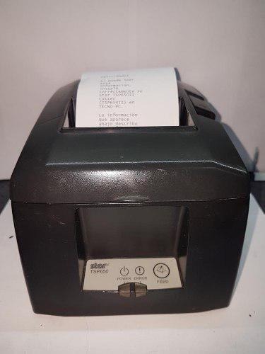 Impresora tickets térmica star tsp650 red lan