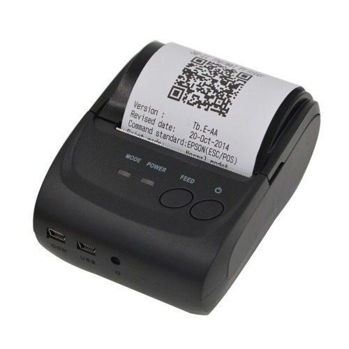 Mini impresora termica portatil 58mm usb bluetooth +regalo