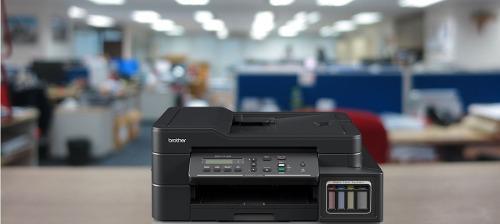 Multifuncional brother t710w sistema de tinta continua.