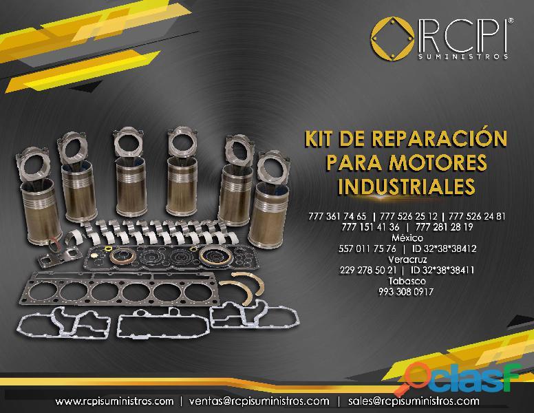 kit de reparación para motores industriales