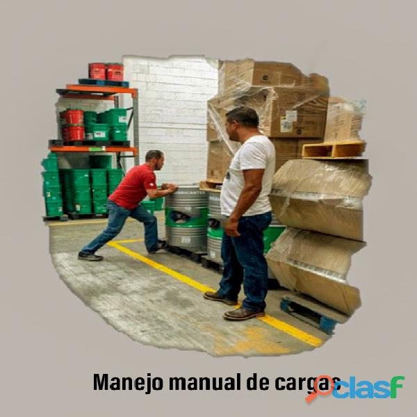 Curso manejo manual de cargas