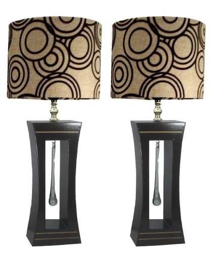 2 lampara de buro/ jeny circulos cafe