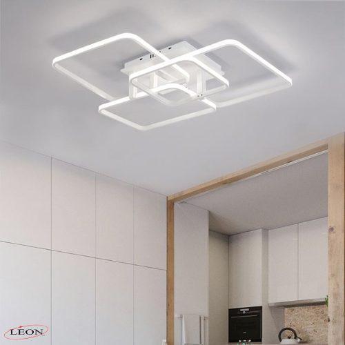 Candil de led modernista para techo 114w leon (blanco)