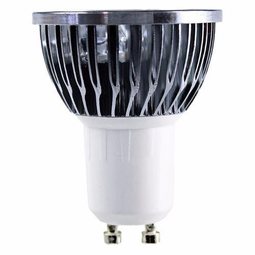 Foco led gu10 4.5w empotrable lampara spot dirigible calido