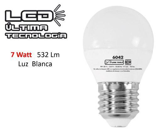 Focos ahoradores led 7 wats casa lampara luz blanca