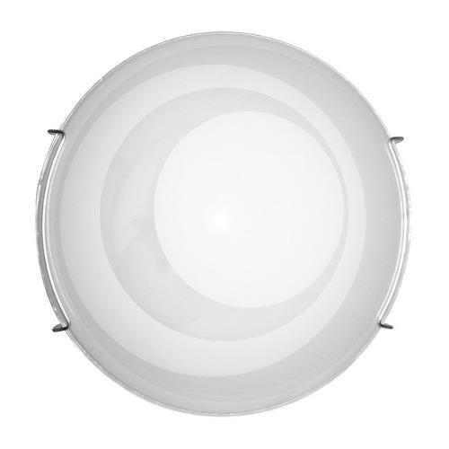 Lámpara techo empotrable - plafón círculos - blanco