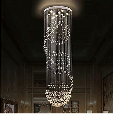 Oferta candil de cristal cortado de lujo 1.5 m de alto