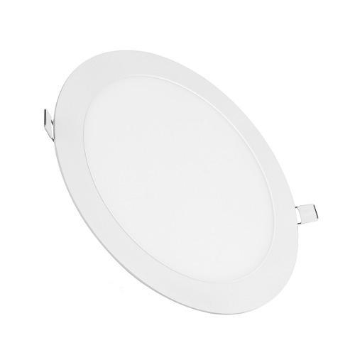 Panel led luz calida circular plafon empotrable 12w /e