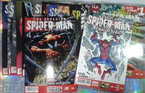 Saga casi completa csuperior spiderman español comic marvel