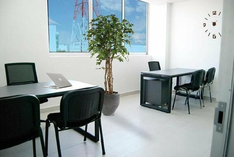 Se renta oficina amueblada en providencia para 2 personas