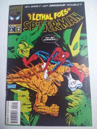 Spiderman lethal foes #2 marvel comics en ingles manga cable