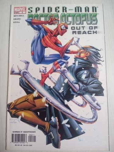 Spiderman out of reach # 2 marvel comics en ingles manga