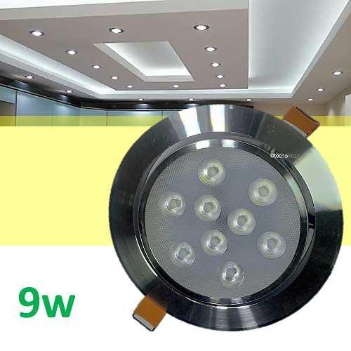 Spot led 9w dirigible foco plafon luces casa tipo panel
