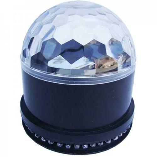 Sunball luz bola disco led rgb dj sonido esfera cristal ball