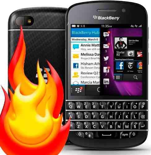 Usado, BLACKBERRY Q10 4G LTE TELCEL MOVI IUSA. WHATSAPP (ULTRAFON) segunda mano  México (Todas las ciudades)