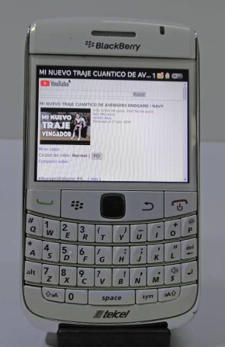 Celular blackberry, vintage (telcel) wifi, youtube