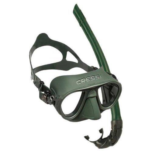 Visor cressi calibro + corsica verde buceo pesca apnea