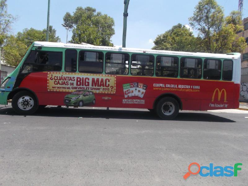 Publicidad camiones urbanos
