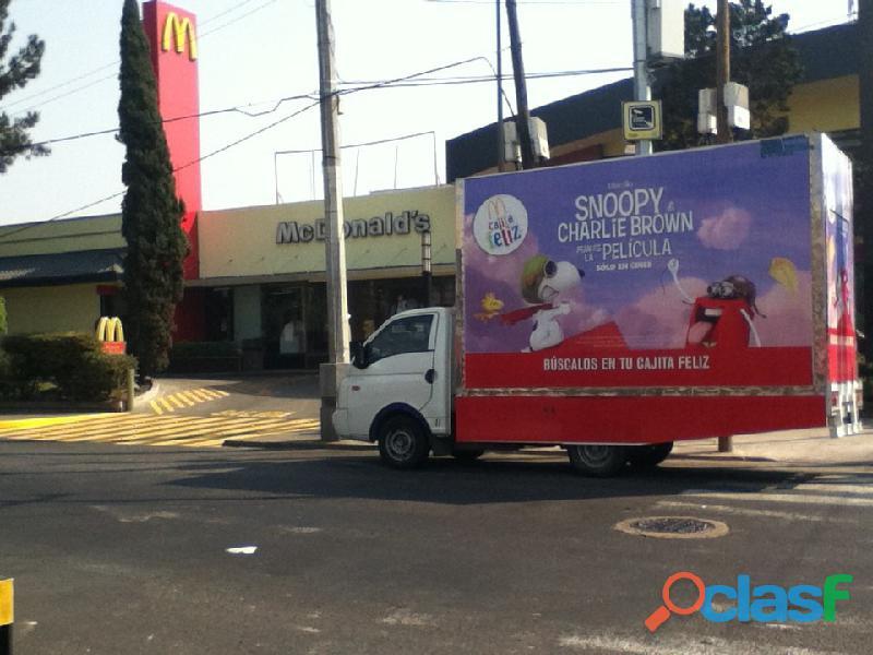 Publicidad en vallas moviles