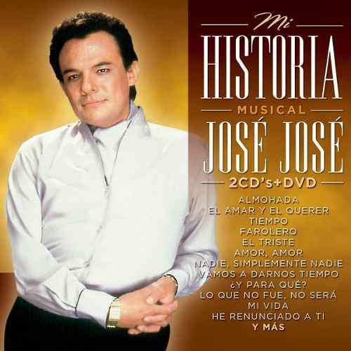 Jose jose mi historia 2cd+1dvd nuevo cerrado + envio gratis