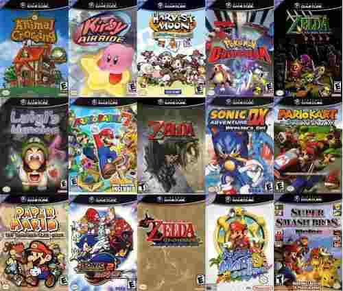 Juegos gamecube a escoger