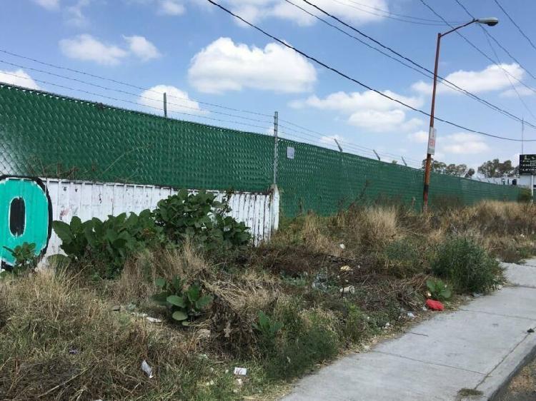 Renta de terreno de 2,500 m2 en av. tlaxcala