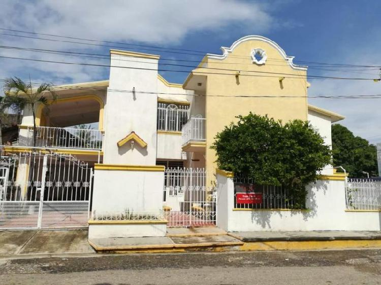 Casa en salina cruz,oax.,col. deportiva, 4 recamaras,1