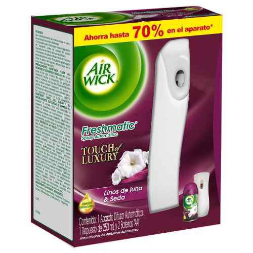 Airwick Freshmatic Aromatizante Lirio Aparato+repuesto 250ml