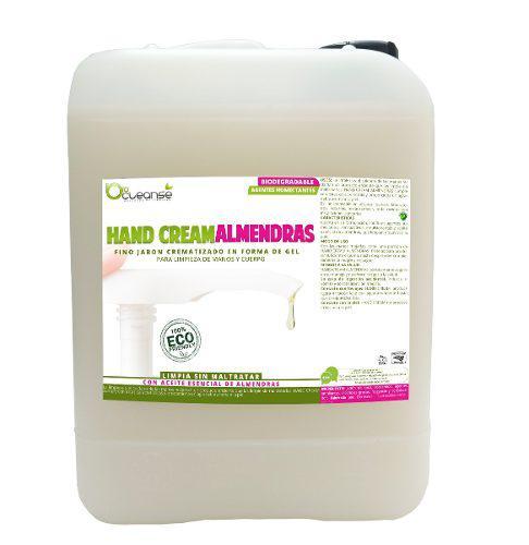 Jabón líquido de manos aceite esencial almendras humec. 5