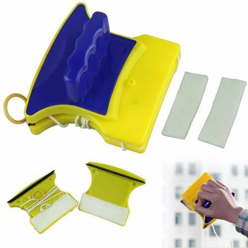 Limpiador magnetico para vidrios limpieza mas rapida y facil
