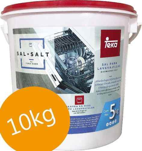 Sal lavavajillas teka original 10 kg