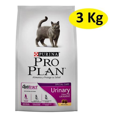 3kg alimento croqueta purina proplan gato urinary optitract