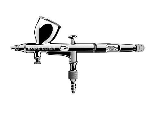 Aerografo bd-850 gravedad p/detalle profesional c/mangera